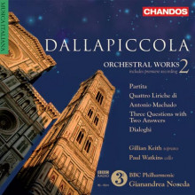 Dallapiccola: Musica Per Orchestra Vol.2
