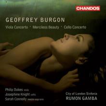 BURGON G.: Concerto per viola etc