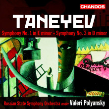 TANEYEV: Sinfonie NN. 1 & 3