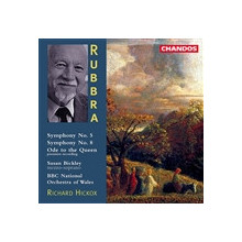 RUBBRA: Sinfonie NN. 5 & 8 - Ode to the Q