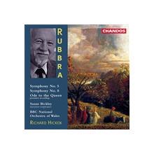 Rubbra: Sinfonie Nn. 5 & 8 - Ode To The Q