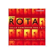 ROTA: Concerti per violoncello NN. 1 & 2