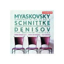 Myaskovsky - Schnittke - Denisov