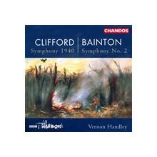 CLIFFORD - BAINTON: Sinfonia 1940 - Sinfoni