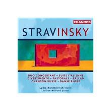 Stravinsky: Opere Per Violino E Piano