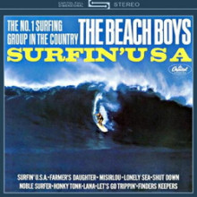 BEACH BOYS : Surfin' USA  (Stereo)
