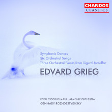 GRIEG: Symphonic dances - 6 orchestral so