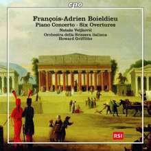 BOIELDIEU: 6 Overtures - Piano concerto