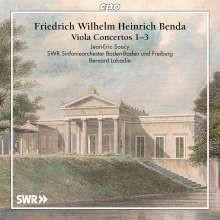 Benda: Viola Concertos Nn.1 - 3