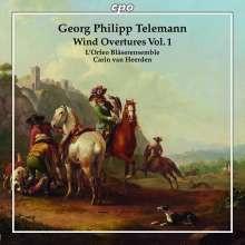 TELEMANN: Wind Overtures - Vol.1