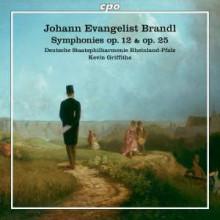 BRANDL J.E.: Sinfonie NN. 25 & 12
