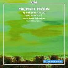 HAYDN M.:Sinfonie NN.13 - 20 e altro