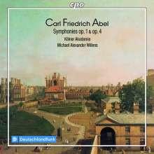ABEL C.F.: Sinfonie Opp.1 & 4