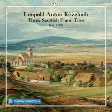 Kozeluch: Three Scottish Piano Trio