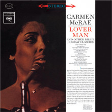 CARMEN McRAE: Lover Man (Sings Billie Holiday Classics)