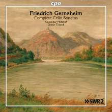 GERNSHEIM F.: Complete Cello Sonatas