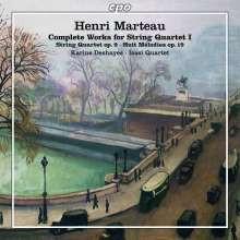 MARTEAU HENRY: Quartetti per Archi - Vol.1