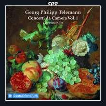 TELEMANN: Concerti da camera - Vol.1