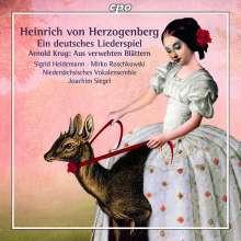 HERZOGENBER: Ein Deutsches Liederspiel