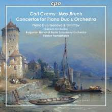 CZERNY - BRUCH: Conc.per piano Duo & Orch.