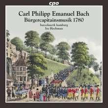 BACH C.P.E.: Burgercapitainsmusik 1780