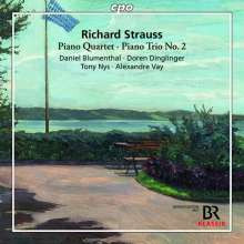 STRAUSS RICHARD: Piano Quartet & Trio