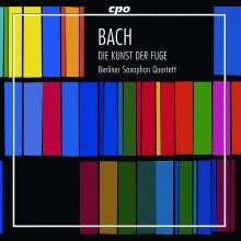 BACH: L'arte della Fuga - arrangiamente per quartetto di sassofoniquart