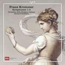 KROMMER: Sinfonie NN. 1 - 2 - 3