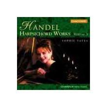 HANDEL Opere per clavicembalo Vol.3