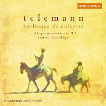 Telemann: Burlesque De Quixotte
