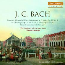 BACH J.C.: Sinfonie NN. 4 & 6
