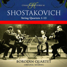 SHOSTAKOVICH: Quartetti per archi NN.1 - 1