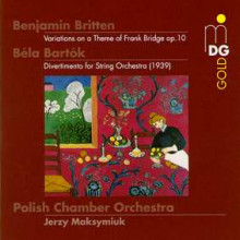 Bartok -  - Britten:divertimento - Bridge Vari