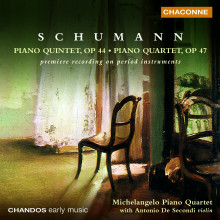 SCHUMANN: Quartetti per Piano Opp. 44 &