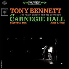 TONY BENNET: Tony Bennet at Carnegie....