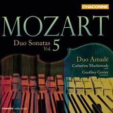 MOZART: Sonate a due KV 454 - 547 (Vol.5)