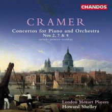 CRAMER: Concerti per piano NN. 2 - 7 & 8