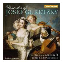 GURETZKY J.: Concerti per cello