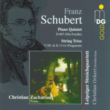 SCHUBERT: Quintet D 667 (Die Forelle)