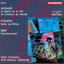 Poulenc - Ibert - Milhaud:opere Orchestrali