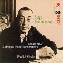 RACHMANINOFF: Sonata - Piano Transcriptio