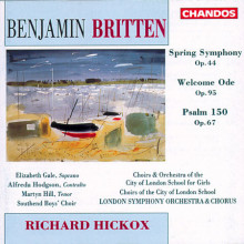 BRITTEN: Sinfonia 'Spring'