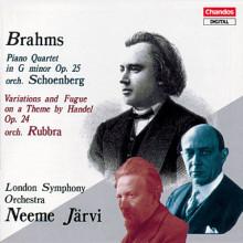 Brahms:quartetti Orchestrati Da Schoenbe