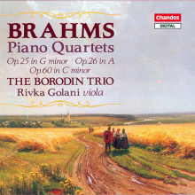BRAHMS: Quartetti con piano