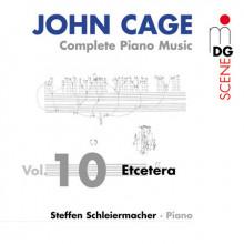 CAGE: Integrale musica per piano Vol. 10