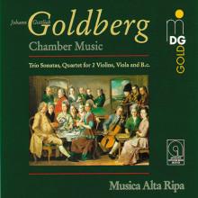 GOLDBERG J.: Musica da camera