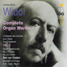 WIDOR: Opere per organo Vol. 3