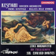 Respighi: Concerto Gregoriano