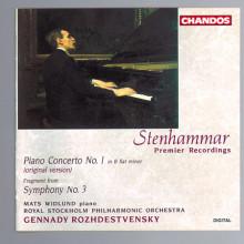 STENHAMMER: Concerto per pianoN.1