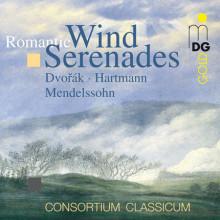 Dvorak - Mendelssohn - Hartmann:wind Seren